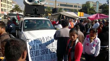 Los maestros protestarán en la capital mexiquense. Foto: Agencia Reforma