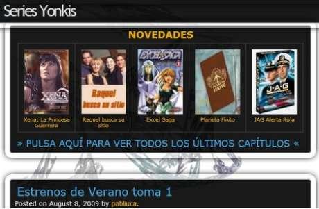 Se descarta que Series Yonkis haya sufrido un ciberataque. Foto: Captura