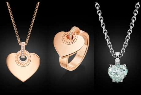 ae62e0a9594e La colección Cuore de Bvlgari se caracteriza por el oro rosado (precio a  petición)