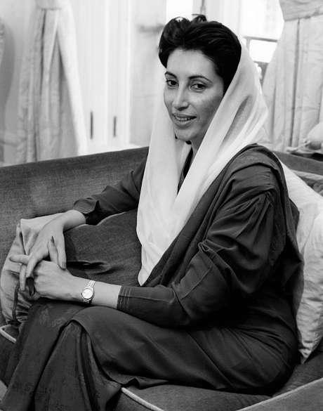Benazir Bhutto nació el 21 de junio de 1953 en Karachi, Pakistán. Foto: Getty Images
