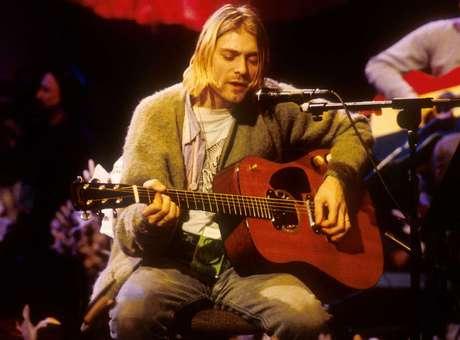 Kurt Cobain fue una estrella en el firmamento musical que se extinguió rápidamente. Foto: Getty Images
