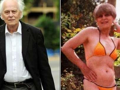 Gillian Norton, que antes se llamaba Gary, se hizo una cirugía para convertirse en mujer, pero ahora quiere volver a ser hombre. Foto: Daily Mail