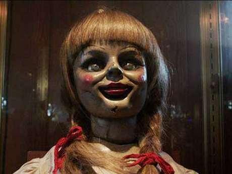 Esta es la muñeca Annabelle que apareció en la película. Foto: Tomada de Internet