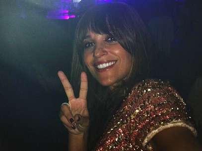 Paula Echevarría publicó en Instagram una fotografía en la que se le podía ver disfrutar del concierto que ofreció su marido, David Bustamante, en el Casino de Torrelodones.  Foto: Instagram