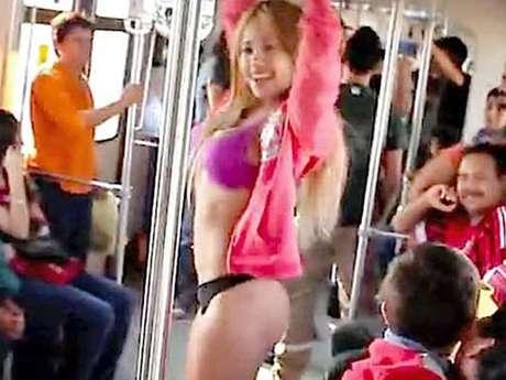 Falta vigilancia en el Metro Foto: Tomada de YouTube
