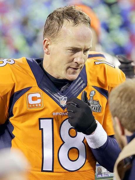 Peyton Manning, Denver quarterback, after losing Super Bowl XLVIII. Foto: Chris O'Meara / AP