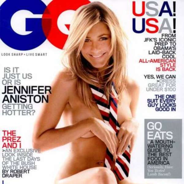 Gq Jennifer Aniston Desnuda