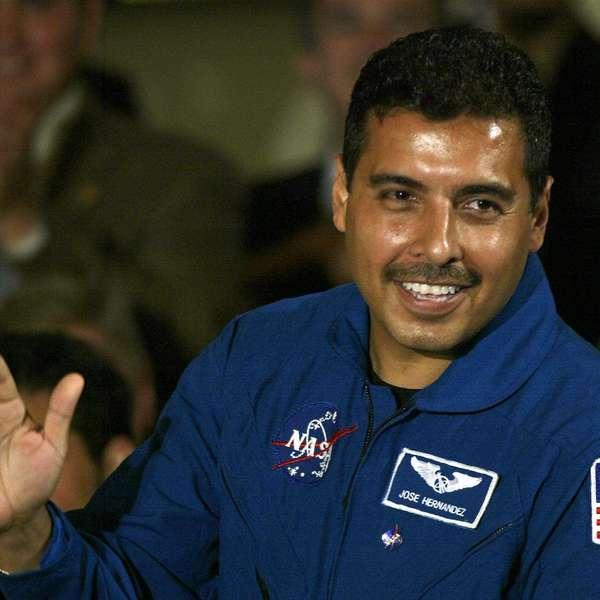 father jose hernandez astronaut - photo #3
