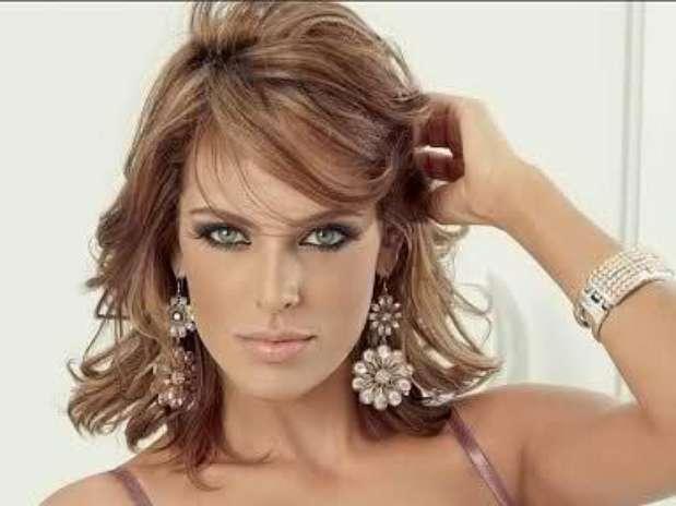 Lenceria De Baño De Sara Sing:Sara Corrales despampanante para marca de ropa interior