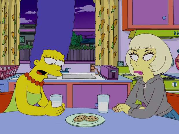 The simpsons lady gaga porn All above