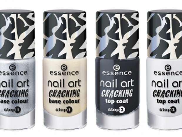 Preview nail art cracking -essence.
