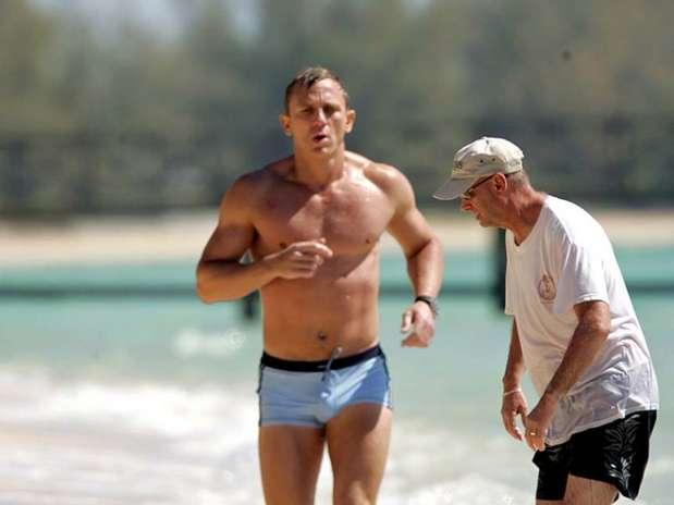 Daniel Craig Que Est A Punto De Estrenar La Nueva Entrega James