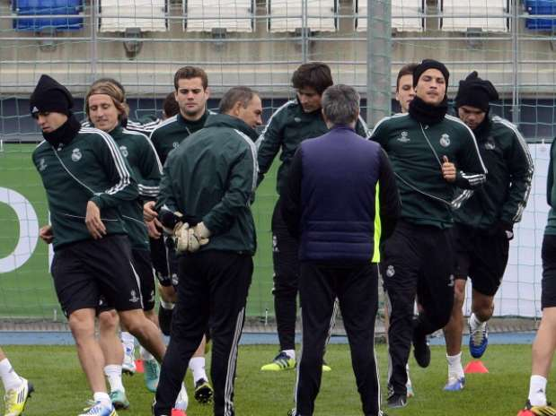 Entrenamiento del Real Madrid. Foto: Getty Images
