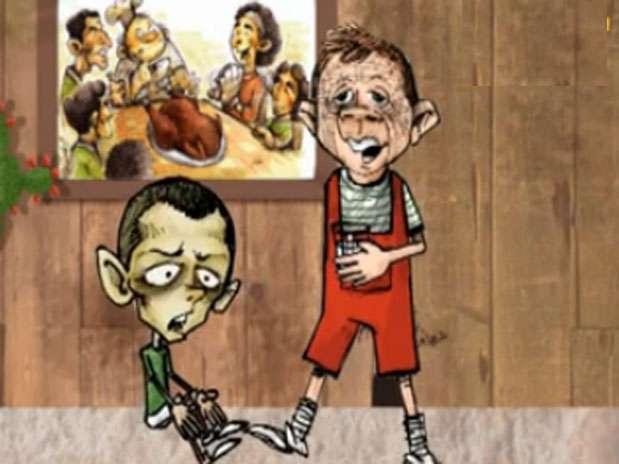 """Tachan a """"Chicharito"""" Hernández de """"cazagoles"""" y temeroso de los jugadores de Honduras Foto: Tomada de Dirio 10 de Honduras"""