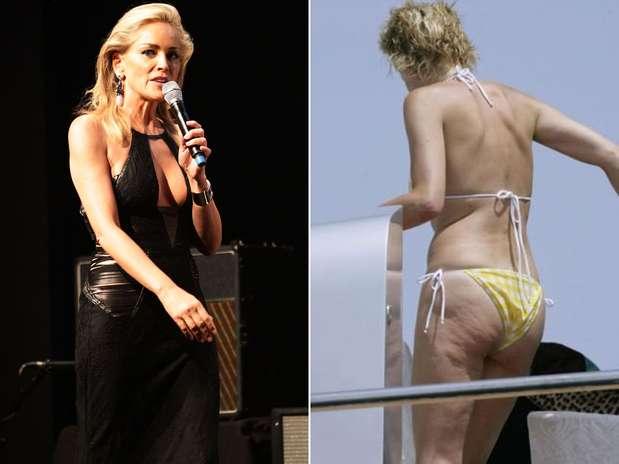 Sharon Stone Es Una Famosa M S Que Ha Sido Perseguida Por Los