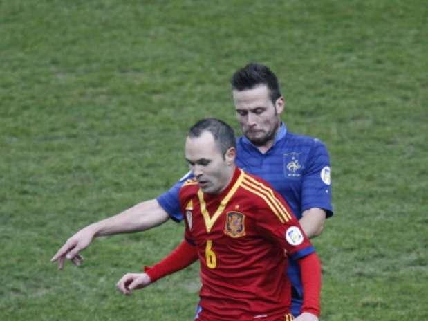 El centrocampista de la selección española, Andrés Iniesta Foto: Getty Images
