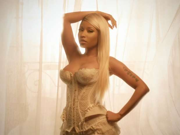 A still from Nicki Minaj's High School music video. Photo Cash