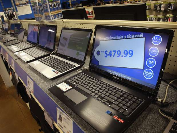 En 2014, las ventas de netbooks bajarán a 264.000 unidades. Foto: AFP