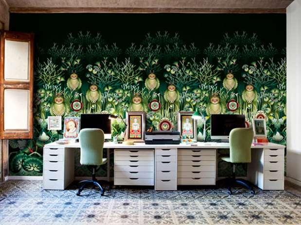 Papel tapiz para paredes dise os impresionantes y ex ticos for Muebles en la estrada
