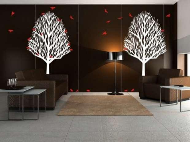 Vinilos adhesivos ideales para decorar tu casa con estilo - Decoracion paredes vinilos adhesivos ...