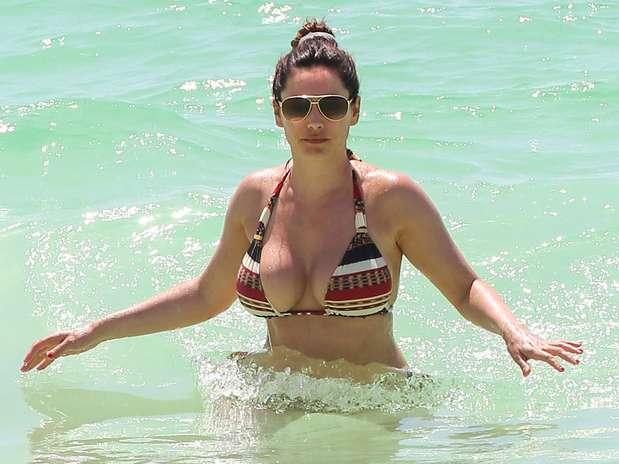 Fotos De Kelly Brook Desnuda En Las Playas M Ico Donde La Rubia