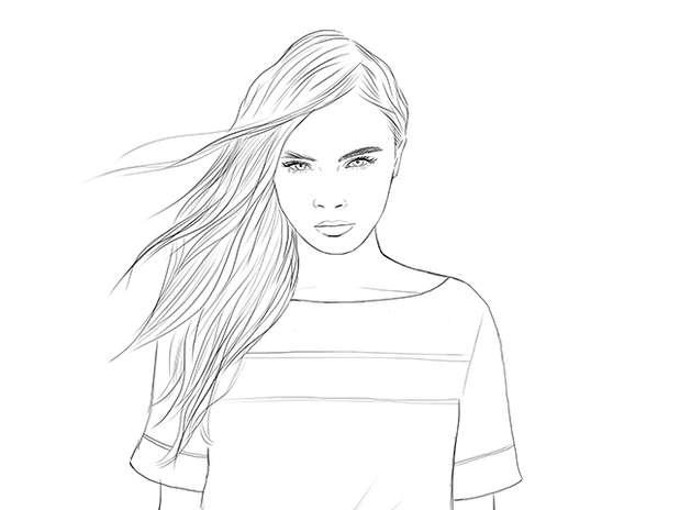 Imagin rostros de mujer para dibujar - Imagui