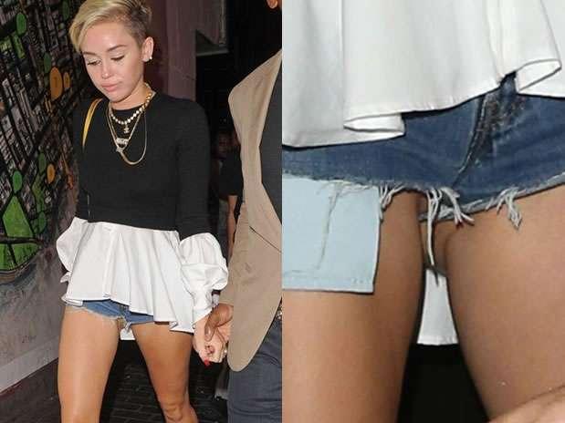 Miley Cyrus Nuevamente Sufre Descuido Por Andar Sin Calzones
