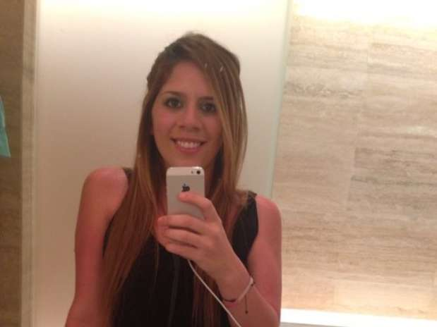 ... the beautiful Maria Sol Messi, the beautiful sister of Lionel messi