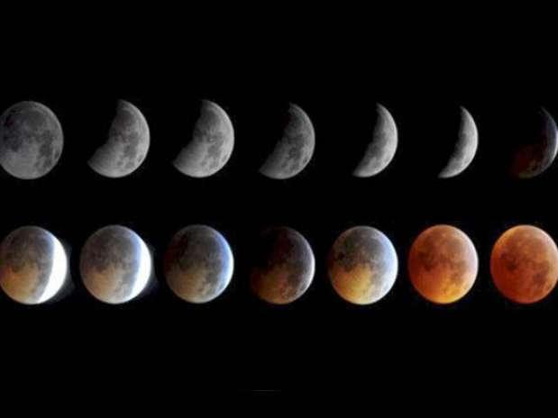 El evento astrológico durará casi cuatro horas, siendo su climax a las 18:00 Foto: NASA
