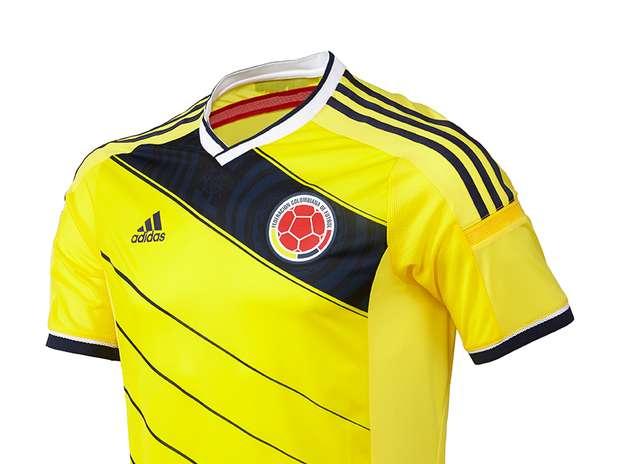 Camisa adidas 2014 nueva Colombia