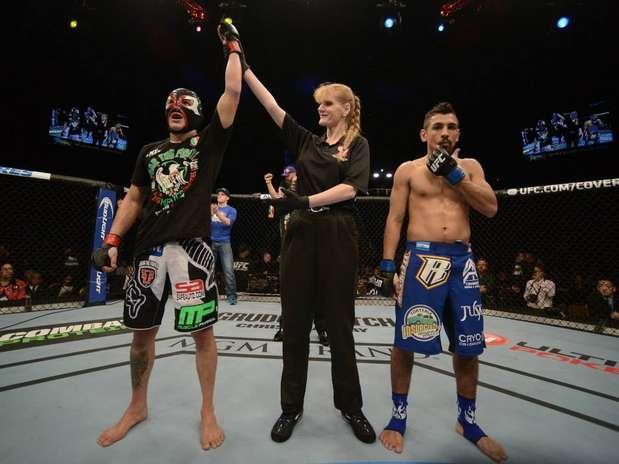 'Goyito', lució muy superior a su rival en la función de UFC 167. Foto: Cortesía UFC