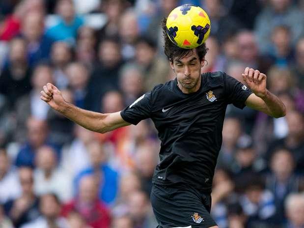 Carlos Martínez, jugador de la Real Sociedad de Fútbol Foto: Getty Images