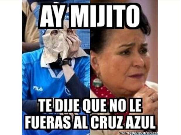Como era de esperarse, las burlas no se hicieron esperar, luego de que el Cruz Azul perdiera y fuera eliminado de la Liguilla. - memes-cruz-azul-11