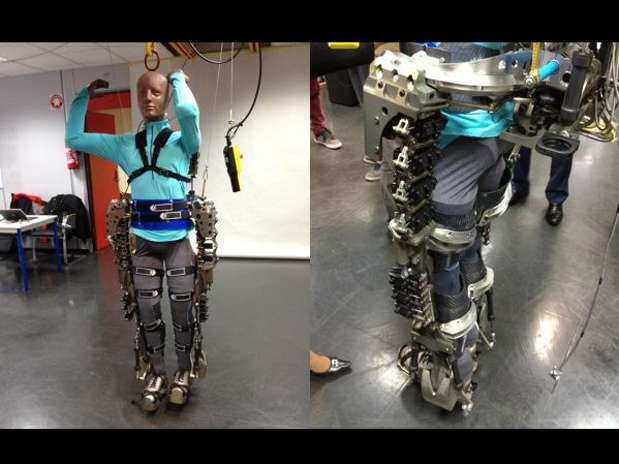 Exoesqueleto Brasil impresión 3D
