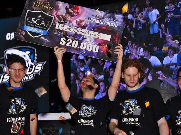 Serie de Campeonato Argentina : Isurus Gaming campeón del League of Legends