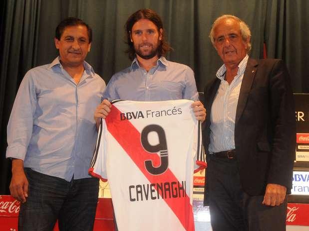 Fernando Cavenaghi, nuevo refuerzo de River. Hasta el momento es la incorporación más destacada en el mercado de pases. Foto: Fotobaires