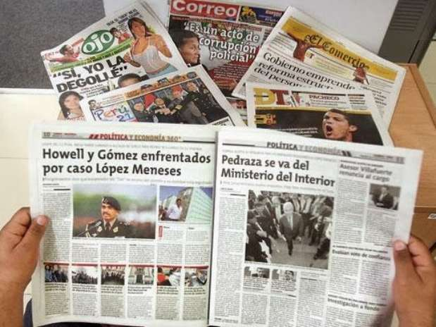 Concentración de medios en el Perú es una de las más altas del mundo. Foto: Gentileza