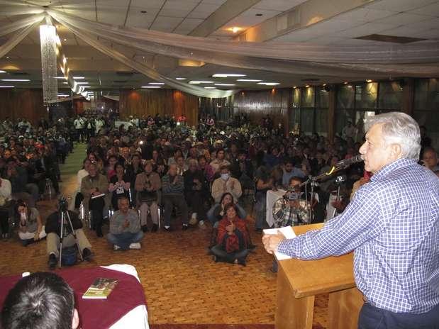 """López Obrador reconoció que su salud """"está bien y aunque todavía no está al cien, ya no puede estar inactivo"""". Foto: http://lopezobrador.org.mx/ / Terra México"""