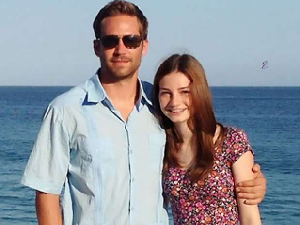 Paul Walker y su hija Meadow el año pasado Foto: guardianlv.com