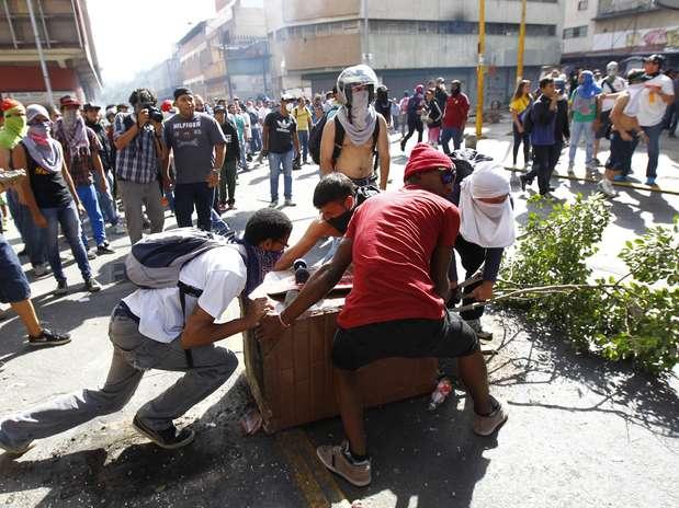 Días de protestas, caos y violencia en Venezuela Foto: Carlos Garcia Rawlins / REUTERS