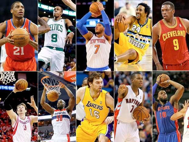 Fotos de Jugadores de la NBA - Baloncesto
