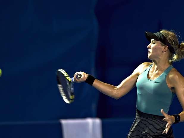Eugenie Bouchard juega su peor partido y es eliminada Foto: Mexsport