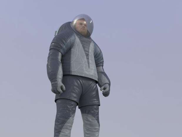 NASA traje impresión 3D