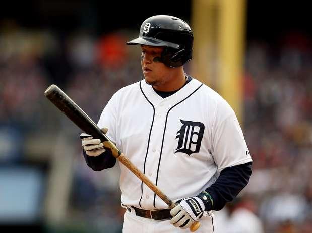 Cabrera fue el Jugador Más Valioso en 2012-2013, con promedio de bateo de .348, conectando 44 jonrones y 137 carreras impulsadas. Foto: Getty images