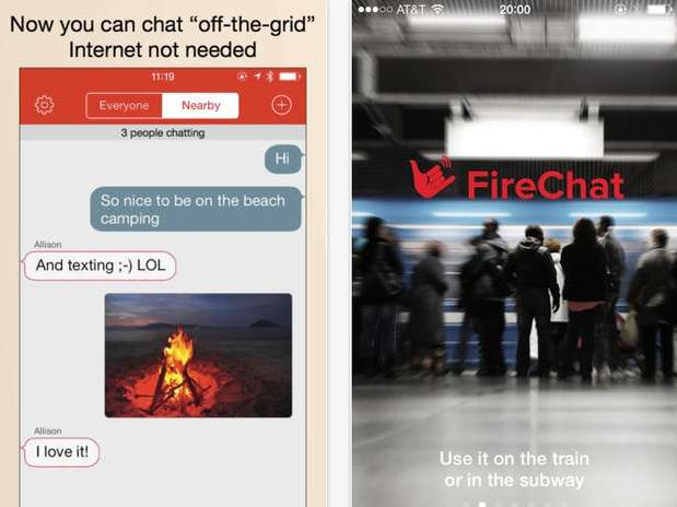 FireChat llega a Android.