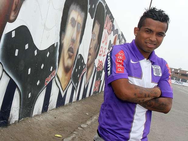 Junior Ponce, volante de Alianza Lima Foto: Diario El Bocón