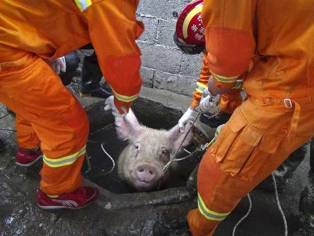 El rescate Foto: Reuters en español