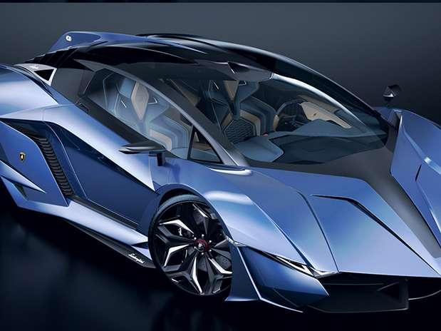 por Paweł Czyżewski en su Lamborghini Concept Car Resonare