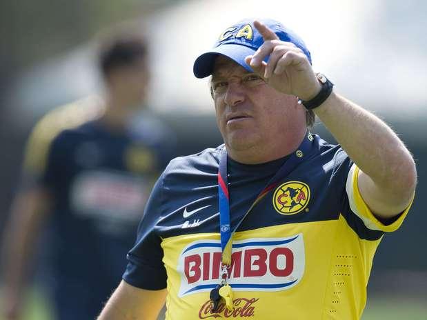 Miguel Herrera, entrenador de América. Foto: Mexsport