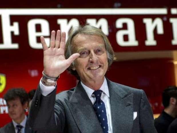 Luca Cordero di Montezemolo, presidente de Ferrari Foto: Getty Images